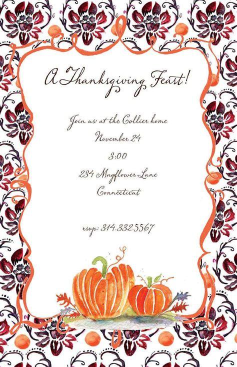 fall invitations invitations templates