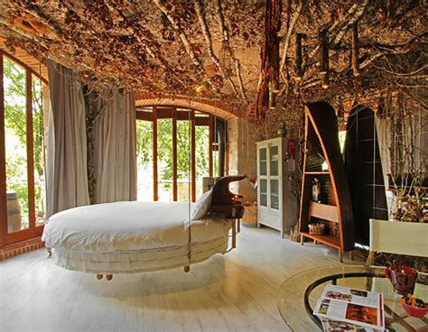 Impressionnant Chambre De Luxe Design #2: chambre-interier-luxe-lit-rond.jpg