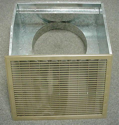 mobile home floor return air filter box