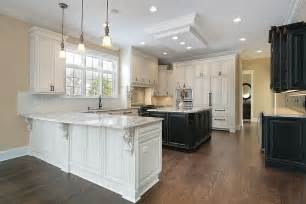 white wood kitchens white kitchen cabinets dark floors quicua com