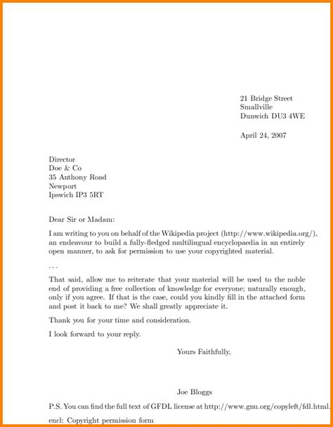 the proper way to write a letter sle letter template