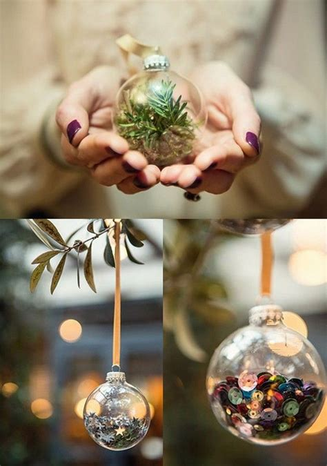 diy decorations baubles 21 best clear bauble ideas images on