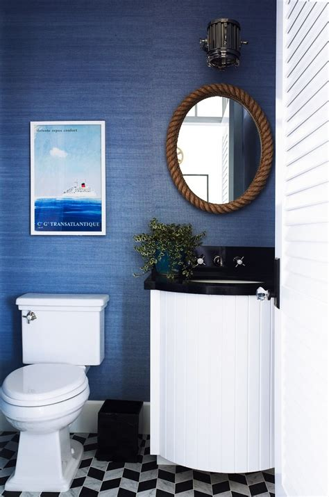 Nautical Mirror Bathroom What Works As Nautical Home Decor In Your Bathroom Home Conceptor