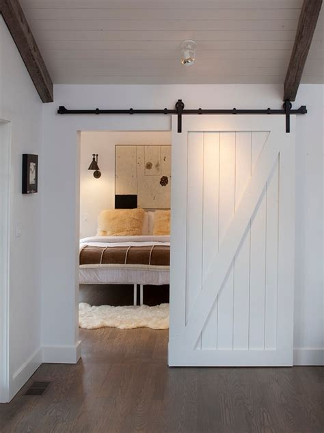 Bedroom Design Ideas With Barn Door Home Design Garden Barn Door Decorating Ideas