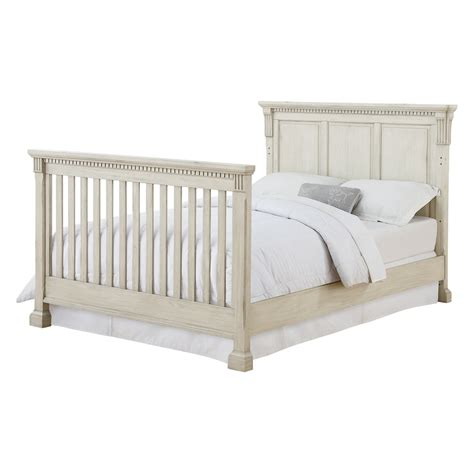 Crib Conversion Rail by Monbebe Everett Size Bed Rails Antique Gray Crib