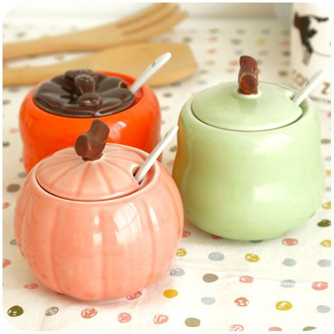 Decorative Spice Jars 4pcs Lot Fashion Ceramic Spice Jars Decorative Seasoning