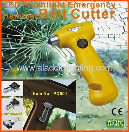 Senter Led Charge 2 In 1 Emergency L Cing Slv rescue hammer with dynamo flashlight manufacturer