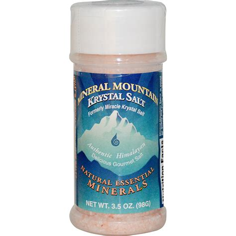 salt l klamath mineral mountain krystal salt 3 5 oz 98 g