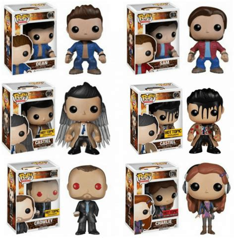 Funko Pocket Pop Keychain Television Supernatural Castiel Wings top 10 supernatural collectibles gift