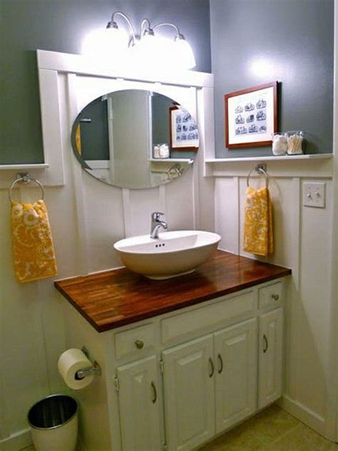 bathroom vanity makeover diy diy vanity downstairs bath pinterest