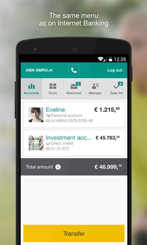 abn amro bank nl login abn amro mobiel bankieren android apps on play