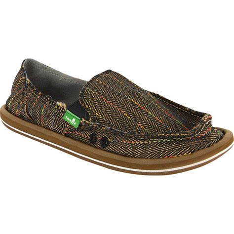 sanuk donna slip on shoes s evo outlet