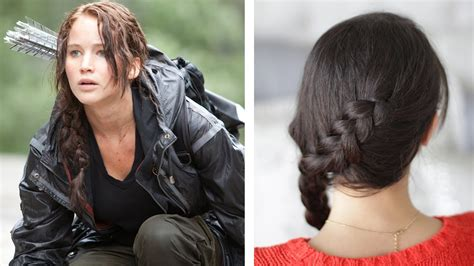 hunger games hairstyles prim how to katniss everdeen braid dutch braid youtube