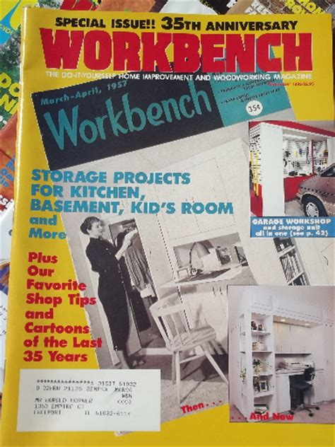 the woodworker magazine back issues lot 50 workbench magazines 80s 90s back issues