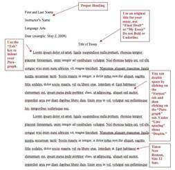 Proper Mla Format For Essays by Mla Format Essay Exle