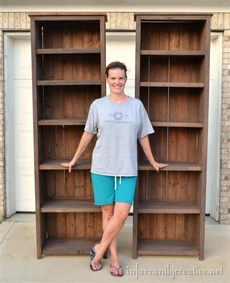 15 Inch Wide Bookcase Tall Bookcase Plans Woodideas