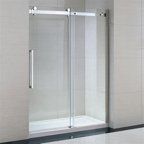 Glass Shower Kits by Ove Decors 15ska Sier60 001wm 60 Inch Tempered