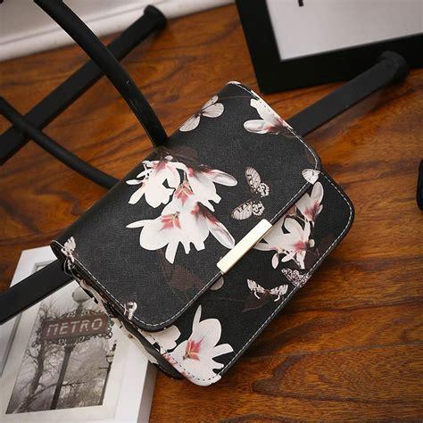 Tas Kulit Putih Vintage Vintage White Leather Bag floral leather shoulder bag satchel handbag retro