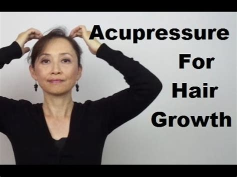 Pressure Points Hair Growth | acupressure for hair growth massage monday 264 youtube