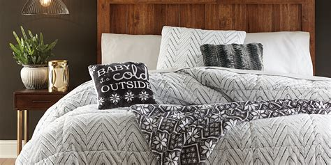faux fur bedding set cannon faux fur comforter chevron home bed bath bedding comforters