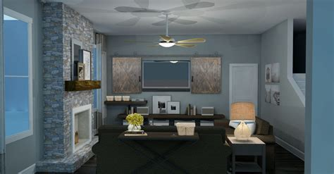 modern room modern rustic living room design