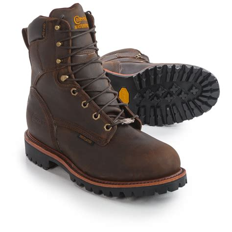 steel toe work boots chippewa bay steel toe work boots for