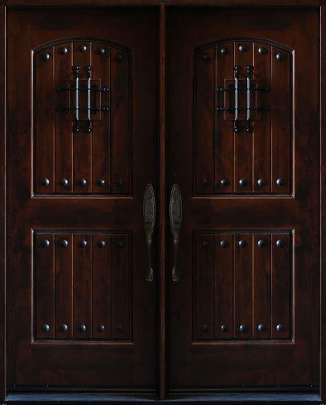 8 front door 5 x 6 8 knotty alder front exterior wood double entry