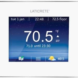 Laticrete Floor Warming Digital Thermostat, Programmable