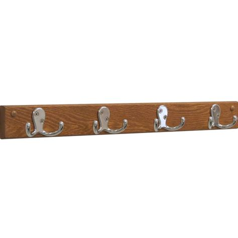 4 hook coat rack in wall coat racks