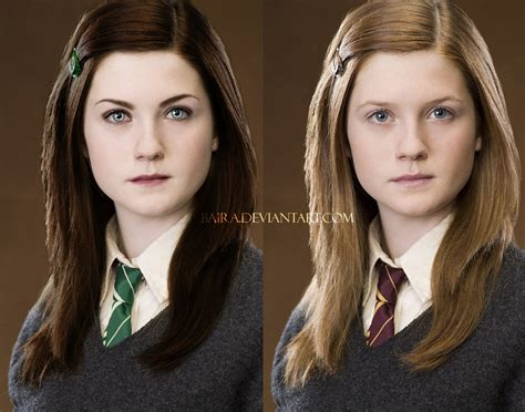 hermione granger hogwarts ginny from slytherin by baira on deviantart