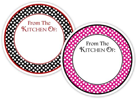 7 best images of round printable food labels christmas 7 best images of round blank printable gift tags free