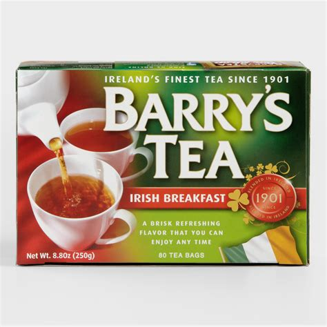 best tea for breakfast barry s original breakfast tea set of 6 world market