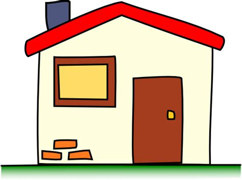 tiny house cartoon my house cartoon clip art at clker com vector clip art