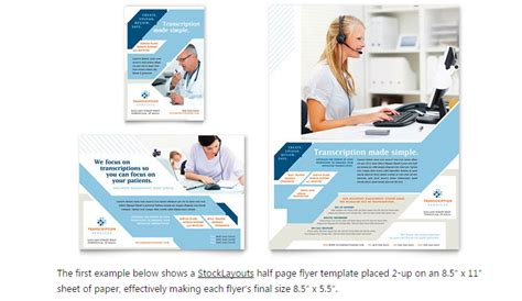 6 Half Page Flyer Template Af Templates Pages Flyer Templates