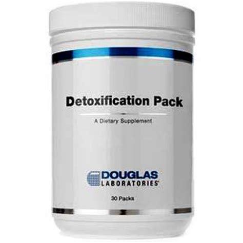 Detox Pack Douglas Laboratories Reviews by Douglas Labs Detoxification Pack 30 Packs Evitamins