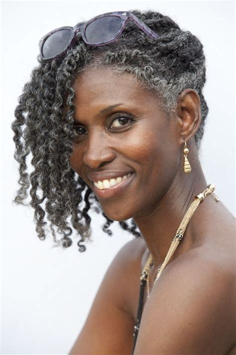 natural hair after five styles 35 best gorgeous gray natural hair images on pinterest