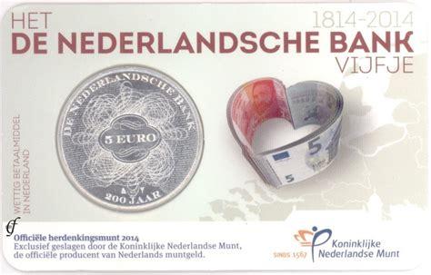 bank niederlande niederlande 5 2014 niederl 228 ndische bank in coincard
