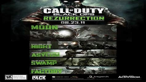 black ops map packs cod black ops zombies quot rezurrection quot map pack sw