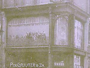 museum amsterdam vijzelstraat buurtwinkels filiaal de gruyter vijzelstraat 22 amsterdam