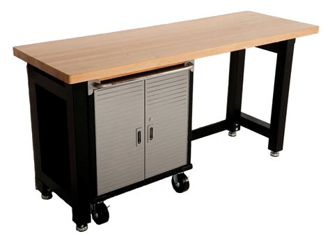 garage workbench and storage cabinets maxim garage storage system workbench cabinet toolbox shed