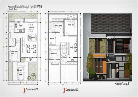 layout rumah lebar 8 jasa arsitek semarang desain rumah lebar 15 meter good