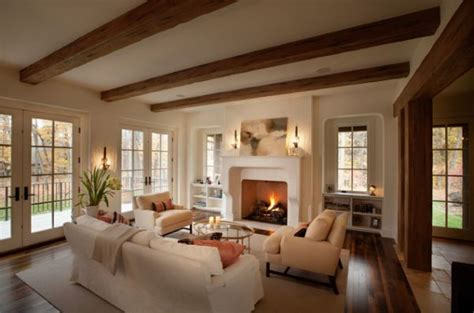 125 Living Room Design Ideas Focusing On Styles And Living Room Ceiling Beams