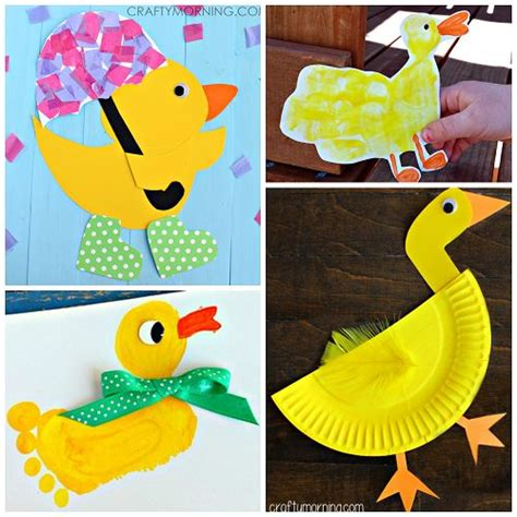 Paper Duck Craft - 17 best ideas about duck crafts on finger