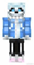Sans undertale minecraft skin