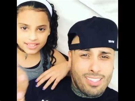 nicky jam y su nueva novia brihanna youtube nicky jam cantando con su hija youtube