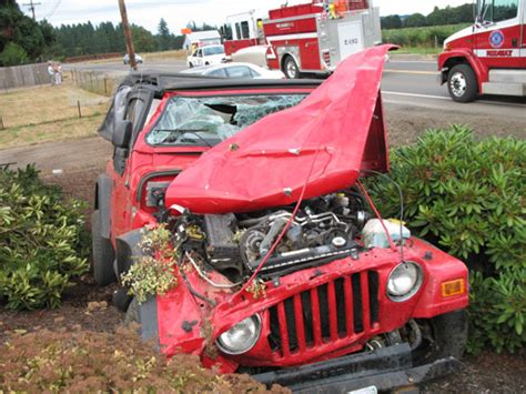 crashed jeep wrangler jeep wrangler crash this happened on july 21 2007 at 4