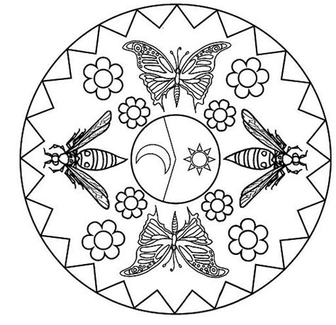 hello kitty ladybug coloring pages 122 best images about mandalas infantis on pinterest