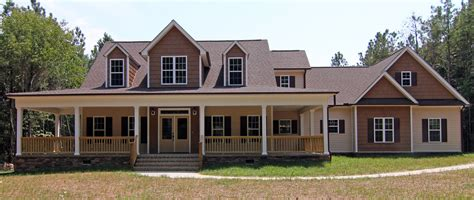 farmhouse style home raleigh two story custom home plan