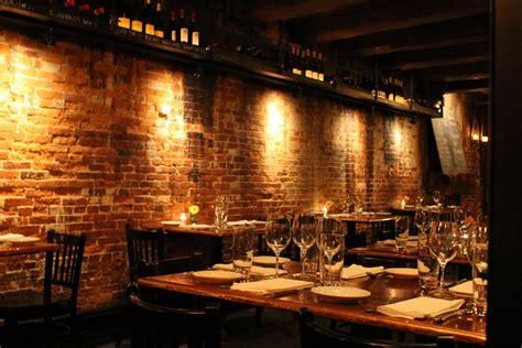 exposed brick wall lighting architecture indulge inspire imbibe portsmouth restaurant