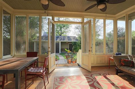 screened back porch ideas for the home
